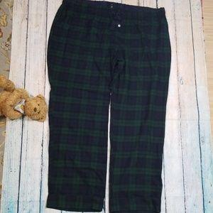 NWOT J Crew  Plaid Flannel Pajama Pants
